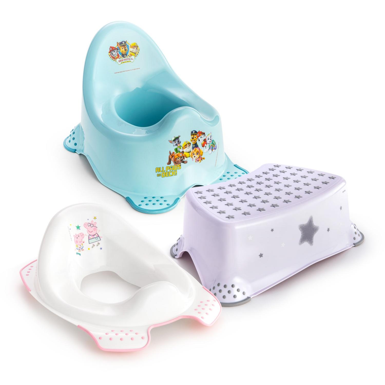 EASYHOME Tritthocker/Toilettensitz/Babytopf