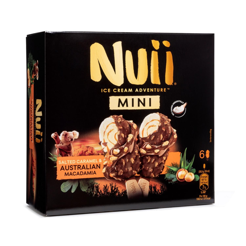 Nuii Mini, Salted Caramel & Australian Macadamia