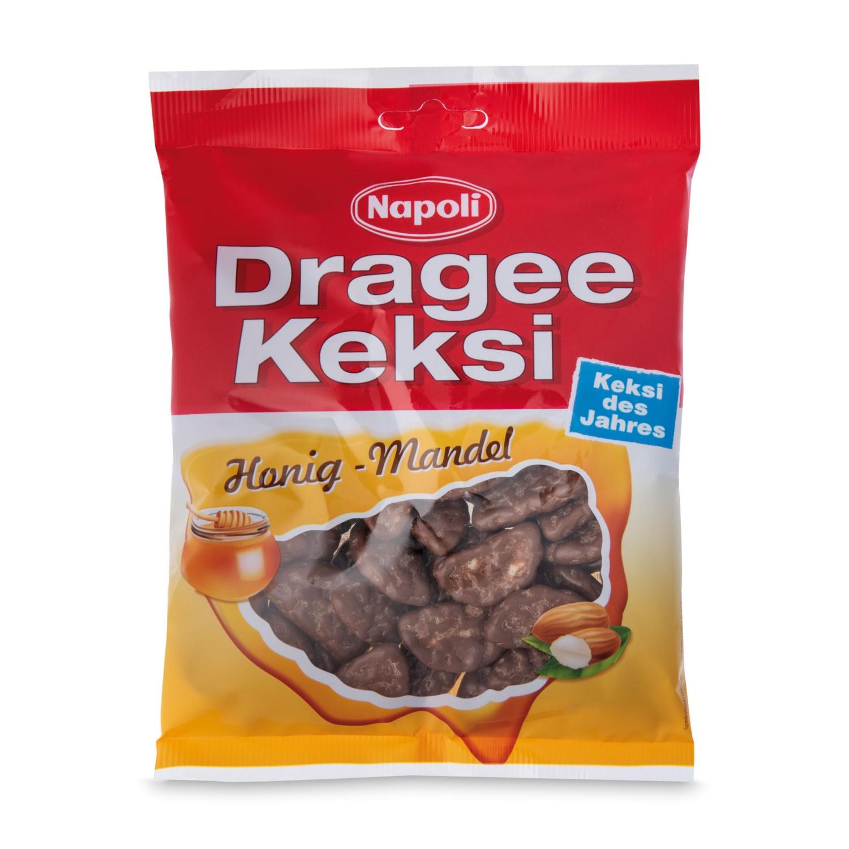 NAPOLI Dragee Keksi, Honig-Mandel