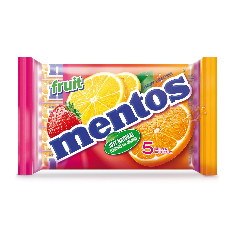 Mentos, Frucht