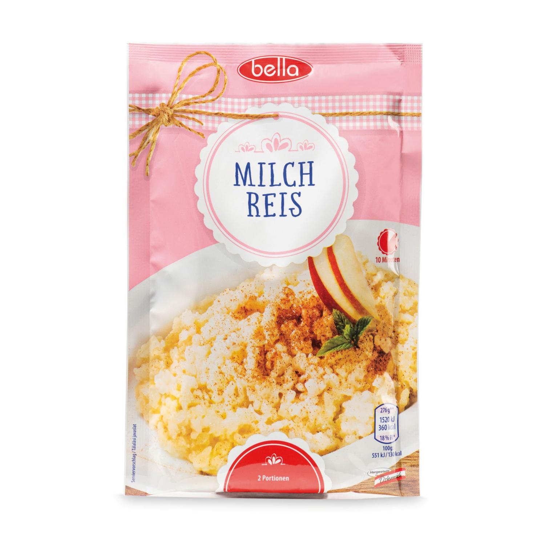 BELLA Süße Fertigspeise, Milchreis