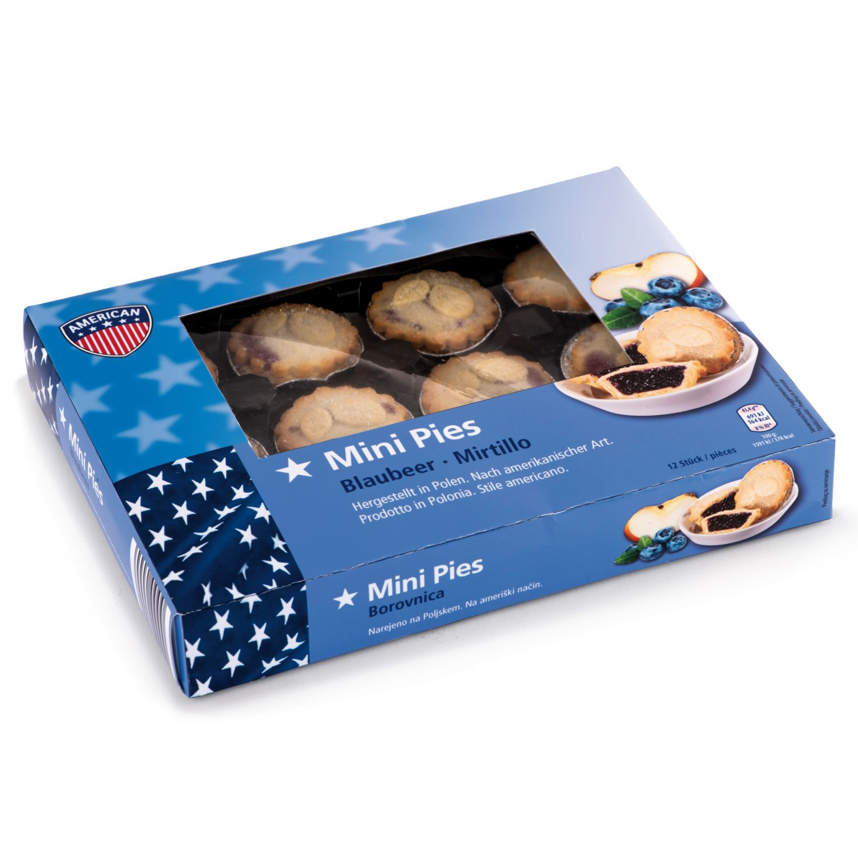 AMERICAN Mini Pies, Blaubeere