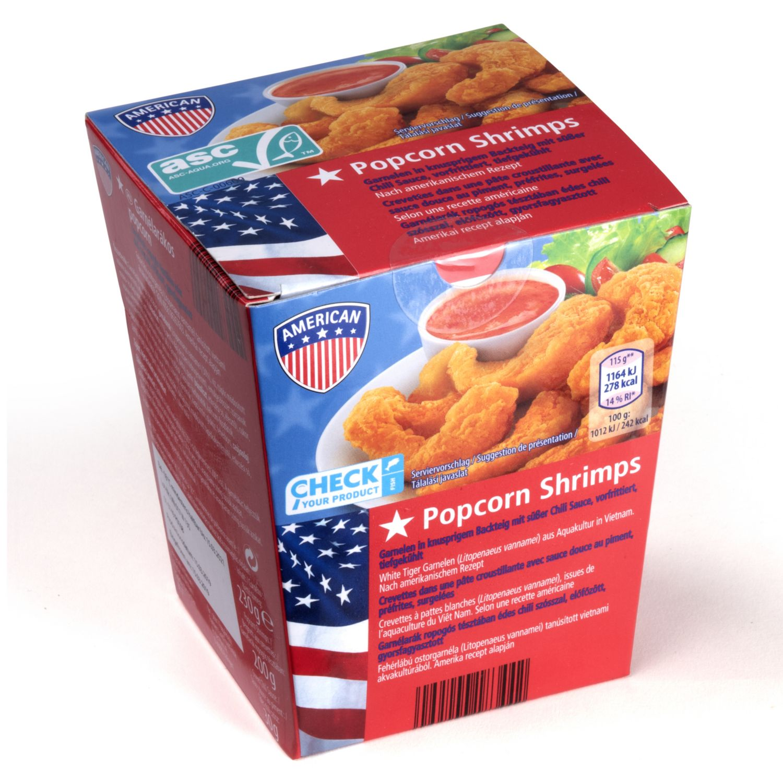 AMERICAN ASC Popcorn Shrimps