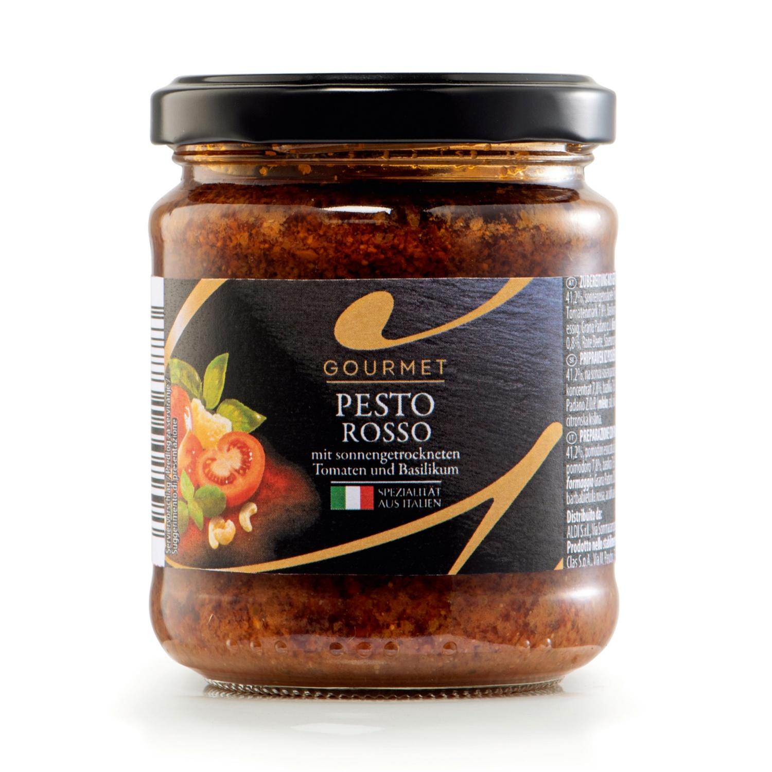 GOURMET Premium Pesto, Rosso