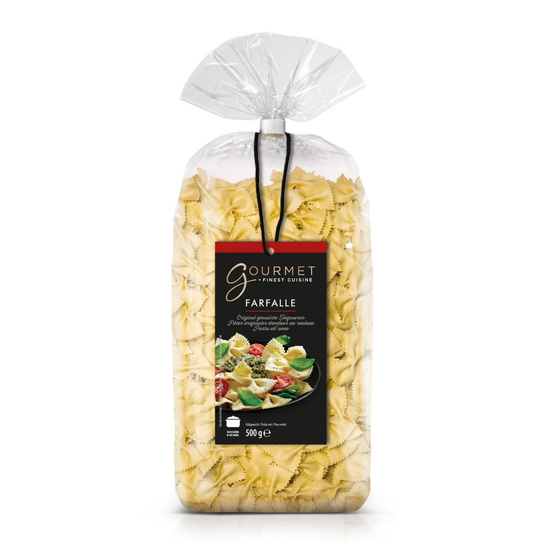 GOURMET Premium Nudeln gewalzt, Farfalle