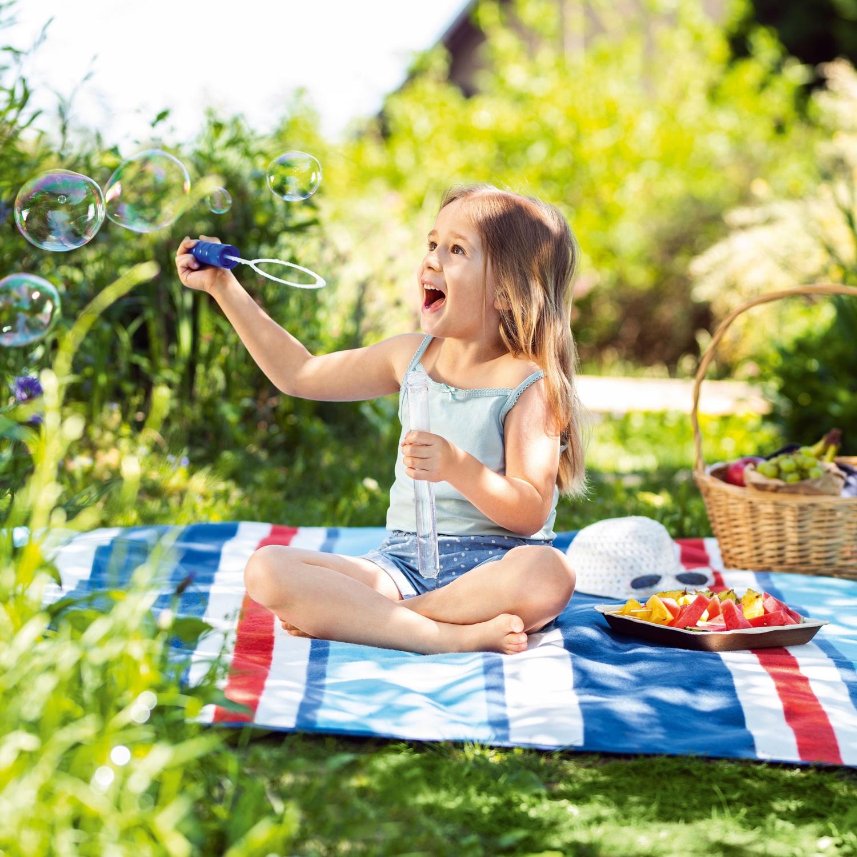 MY LIVING STYLE Camping-/Picknick-Decke XXL