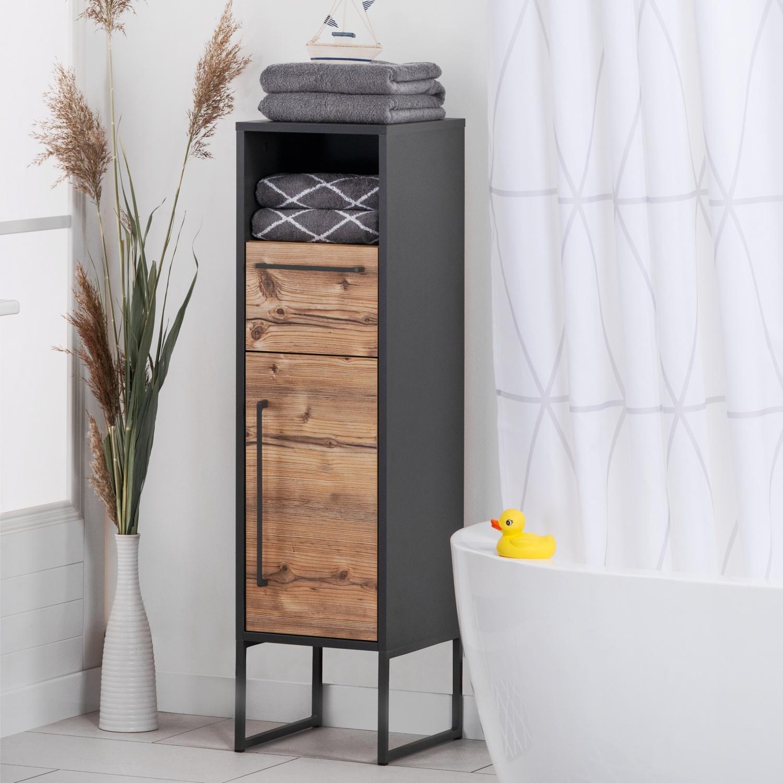 LIVING STYLE Badezimmer-Seitenschrank  HOFER