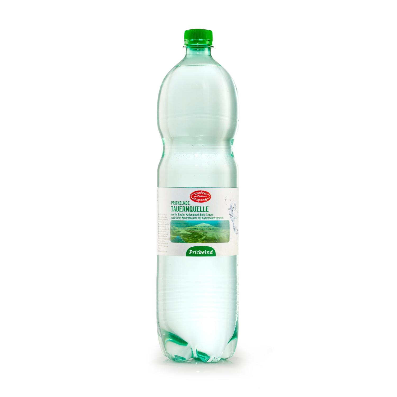 ZURÜCK ZUM URSPRUNG Mineralwasser, prickelnd