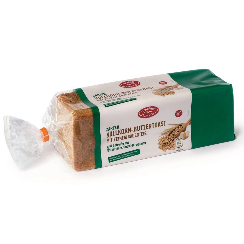 ZURÜCK ZUM URSPRUNG BIO-Toast, Vollkorn