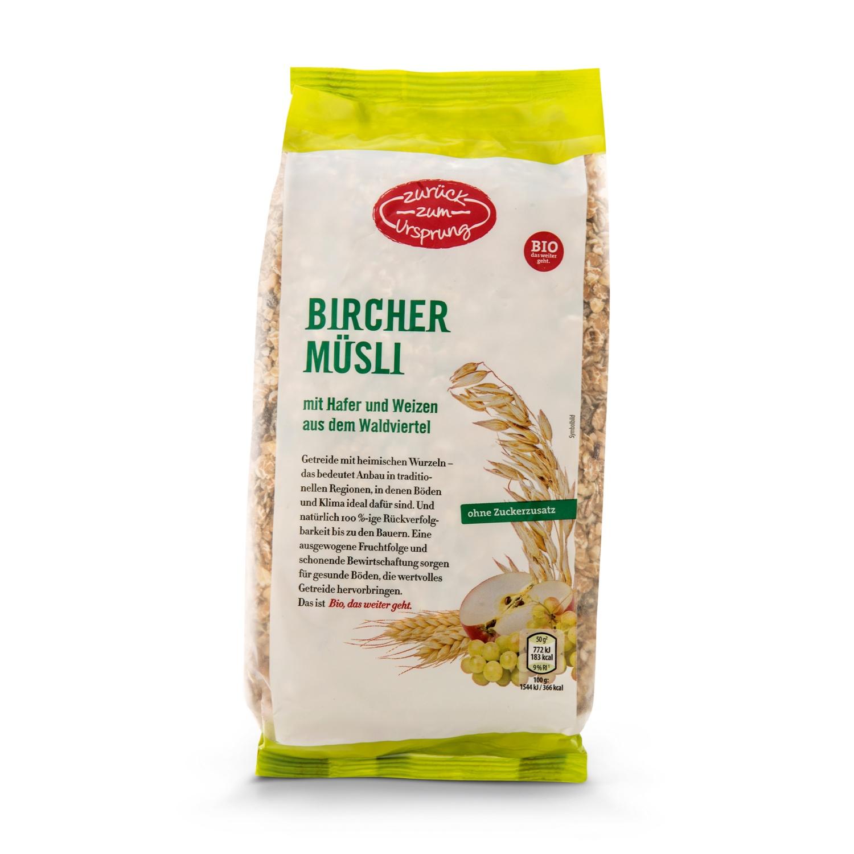 ZURÜCK ZUM URSPRUNG BIO-Bircher-Müsli