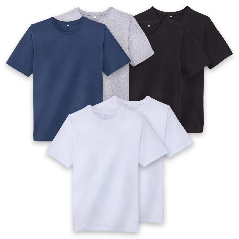 WATSON'S Herren-T-Shirt, Baumwolle (Bio), Doppelpkg.