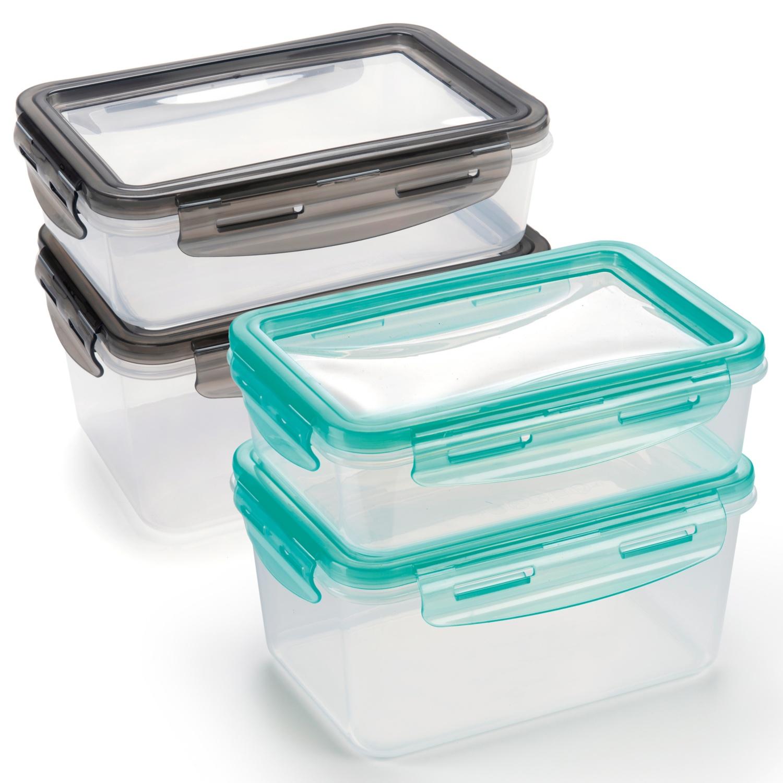 CROFTON Frischhaltedosen mit flexiblem Deckel, 2-teilig