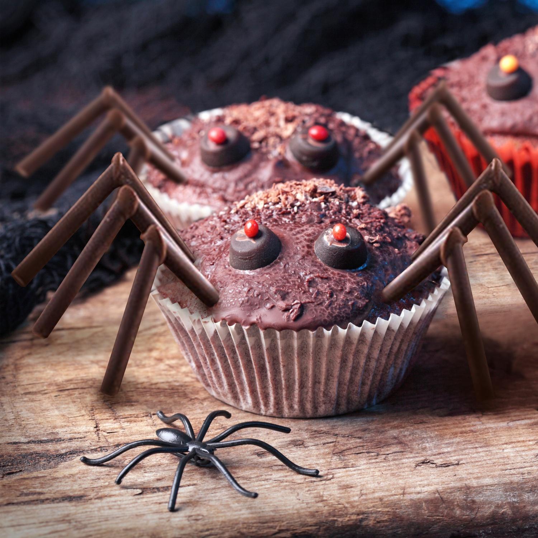 Spinnen-Muffins