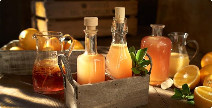 Fruchtiger Orangen-Wein