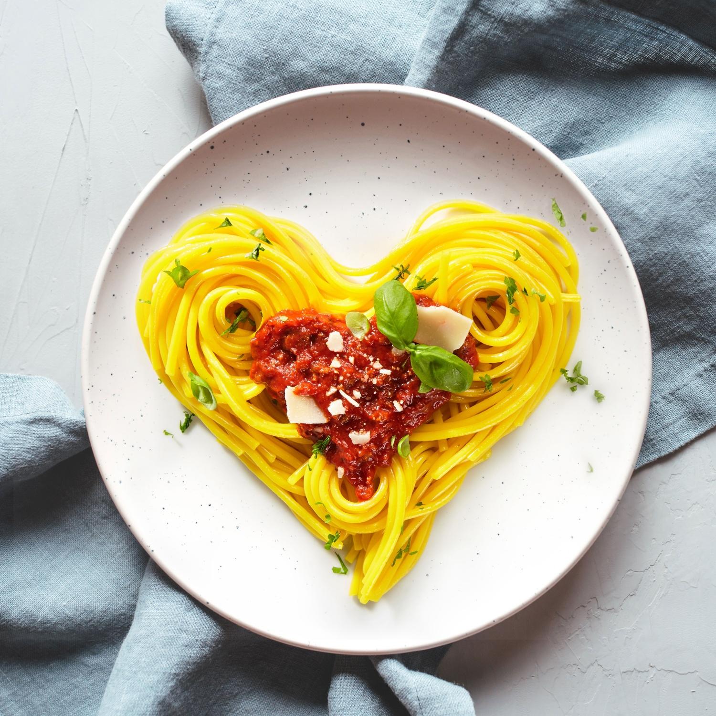 Valentinstags-Bolognese de l´amour