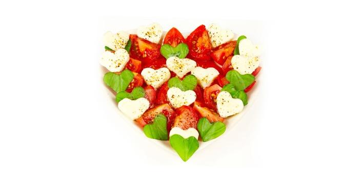 Valentinstags-Salat