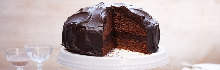 Schokoladentorte mit Schokocreme