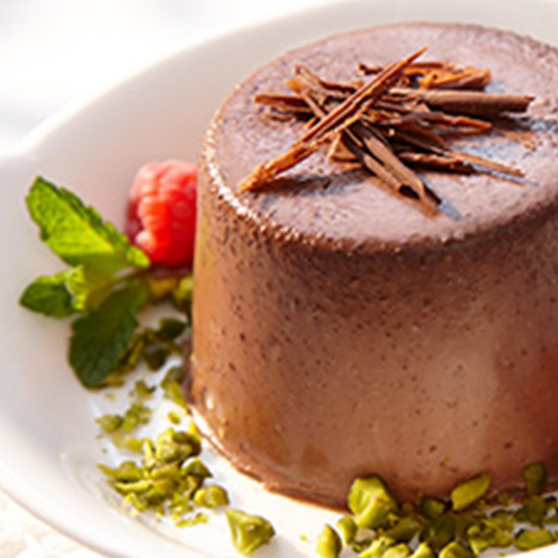 Schokoladen-Panna Cotta