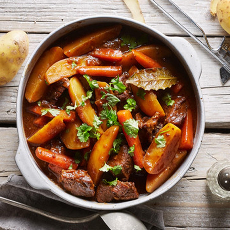 Irish Stew (Fleischeintopf mit Kartoffeln und Gemüse)