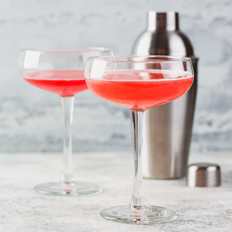 Erdbeer-Prosecco-Aperitif