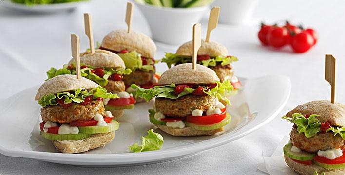 Fingerfood: Handliche Burger