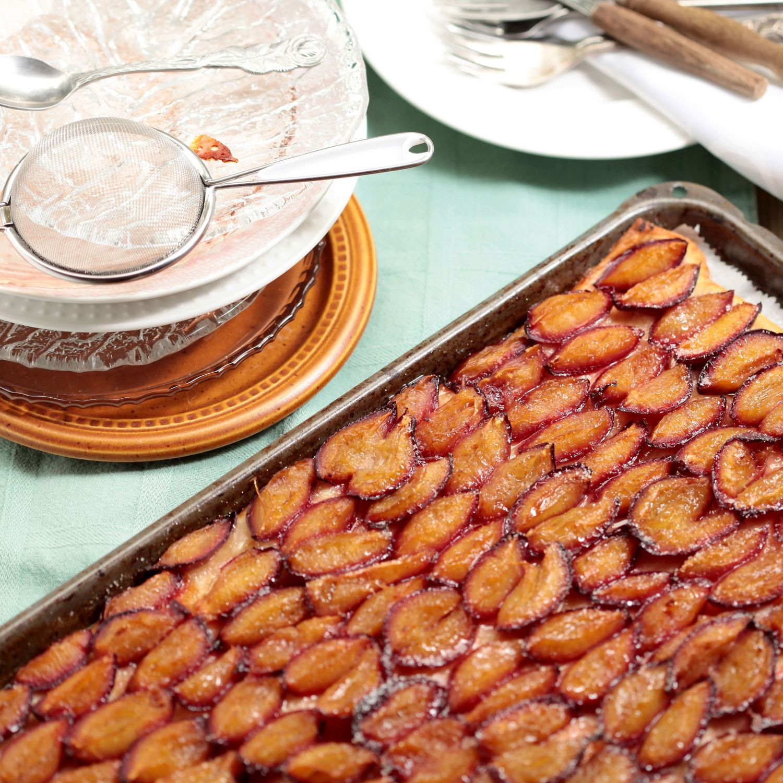 Klassischer Zwetschgenkuchen