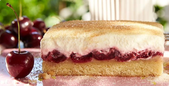 Kirsch-Schmand-Kuchen