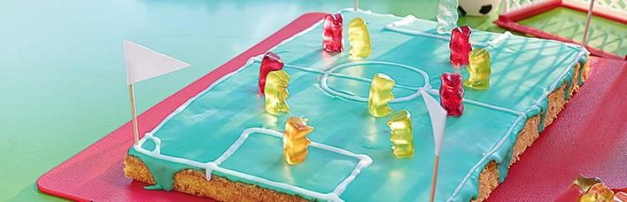 Limokuchen - Fußballfeld