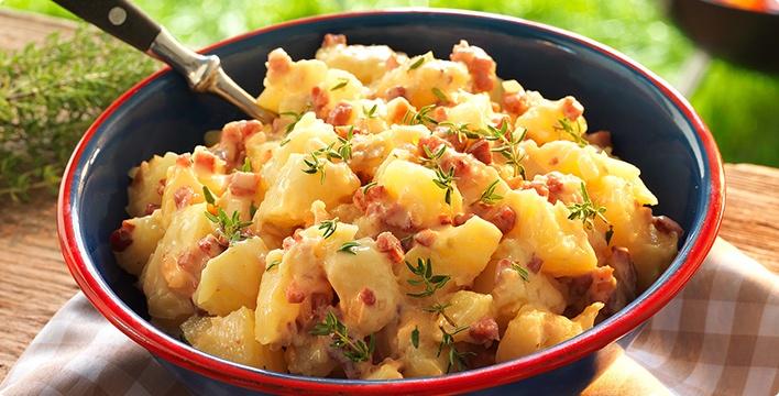Rheinland-pfälzischer Kartoffelsalat
