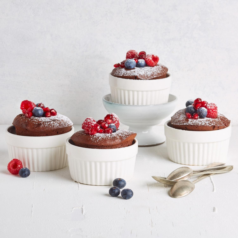 Schokoladen Soufflé