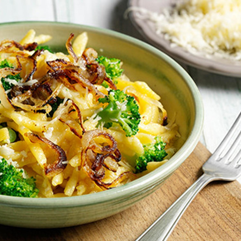Käsespätzle mit Brokkoli