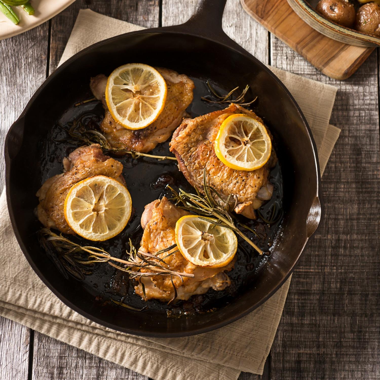 Provenzalisches Zitronen-Huhn
