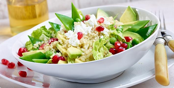 Superfood-Salat mit Quinoa