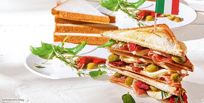 Gourmet-Sandwich Italian Style