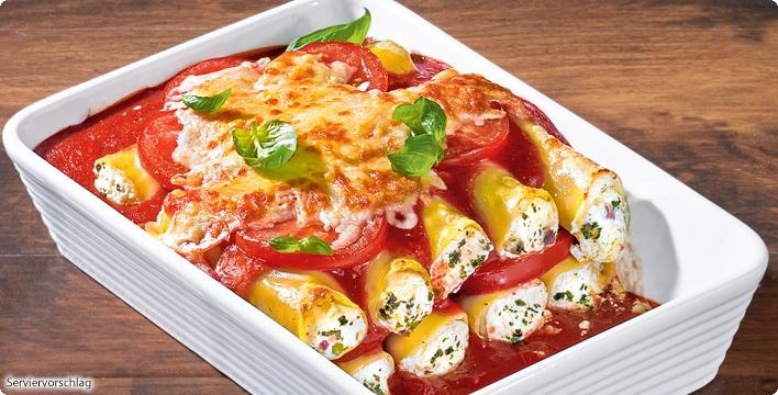 Cevapcici-Cannelloni-Auflauf