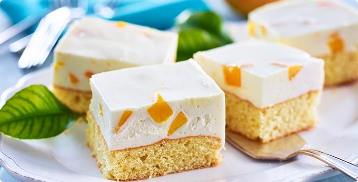 Mangocreme-Kuchen
