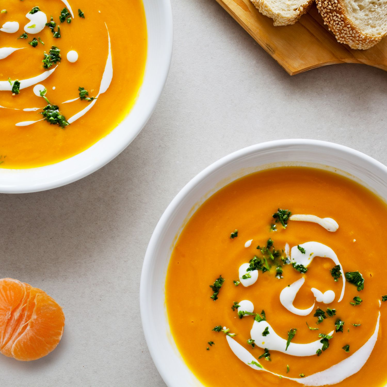 Clementinen-Karotten-Suppe
