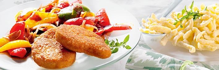 Vegetarisches Schnitzel Puszta-Art