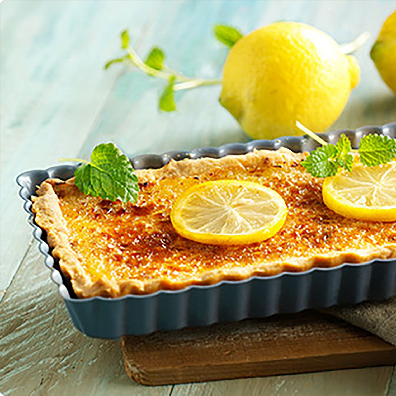 Zitronen-Crème-Brûlée-Tarte