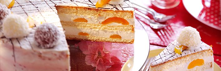 Coconut Kiss Torte