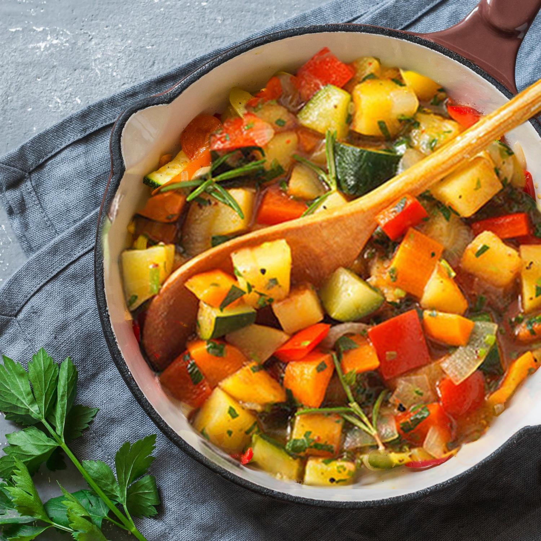 Türkischer Gemüseeintopf