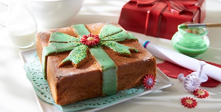Kuchen-Geschenk