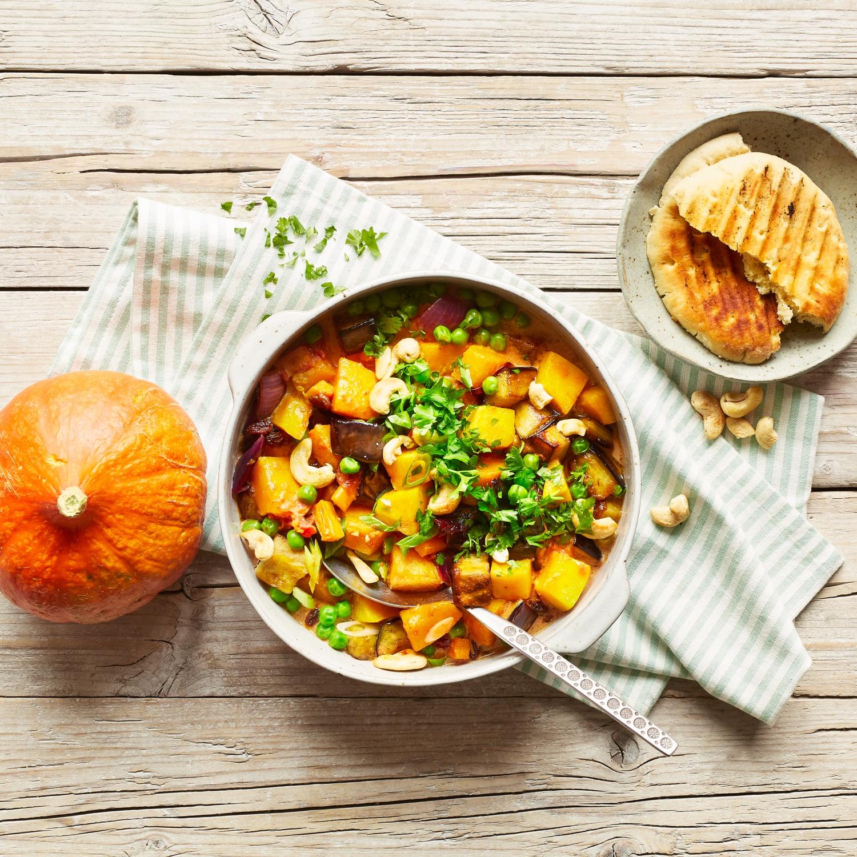 Veganes Hokkaido-Curry