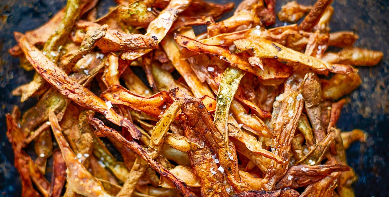 Kartoffelpuffer und Crispy Chips