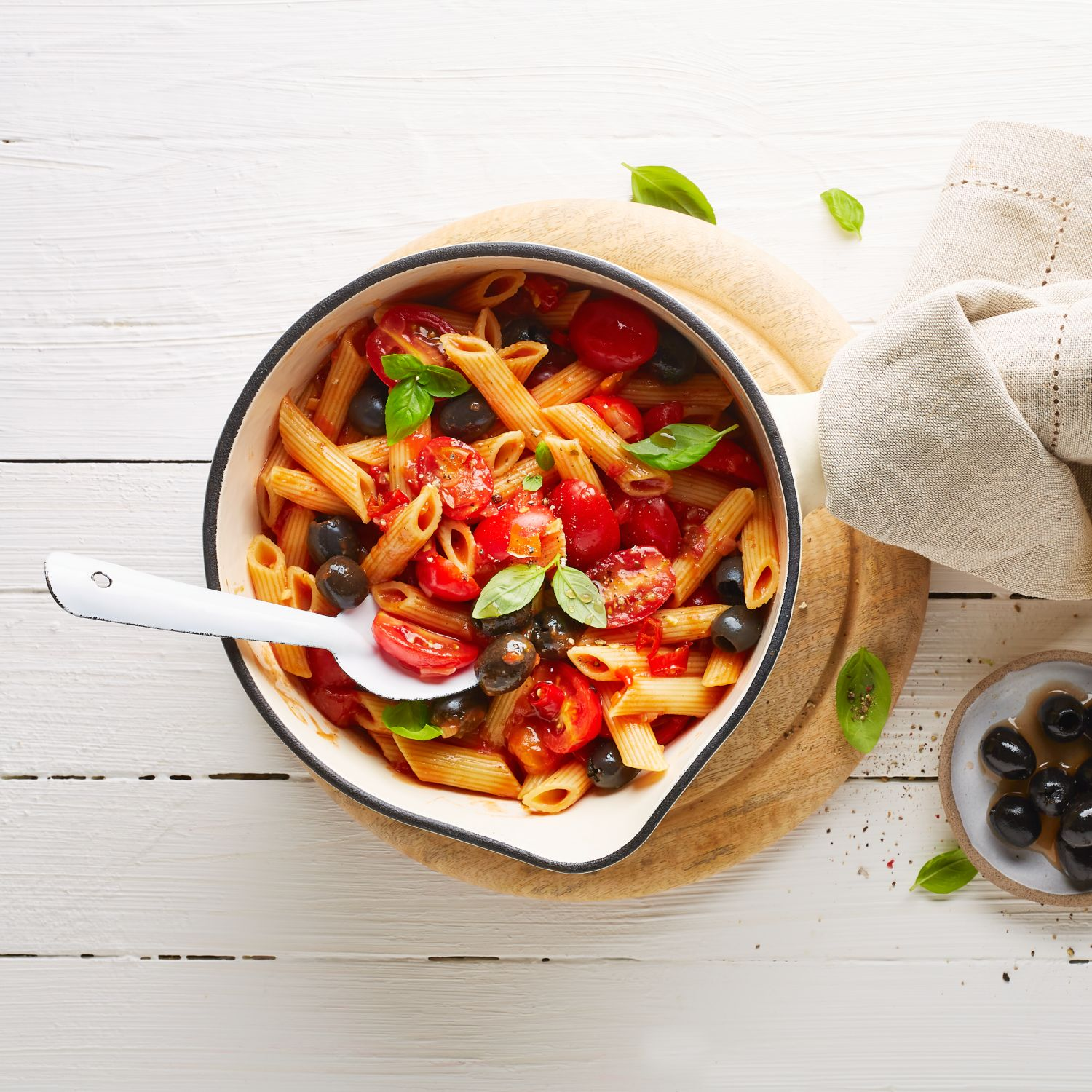 Vegane One Pot Pasta all'arrabbiata