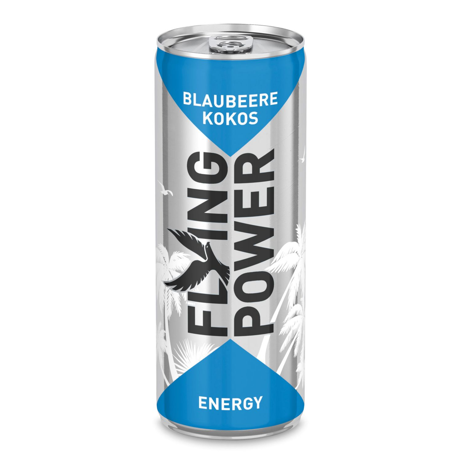 FLYING POWER Energy Drink, Kokos-Blaubeere