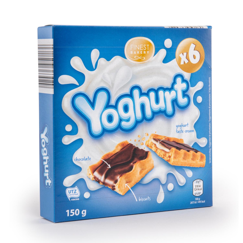 FINEST BAKERY Gebäckriegel, Joghurt