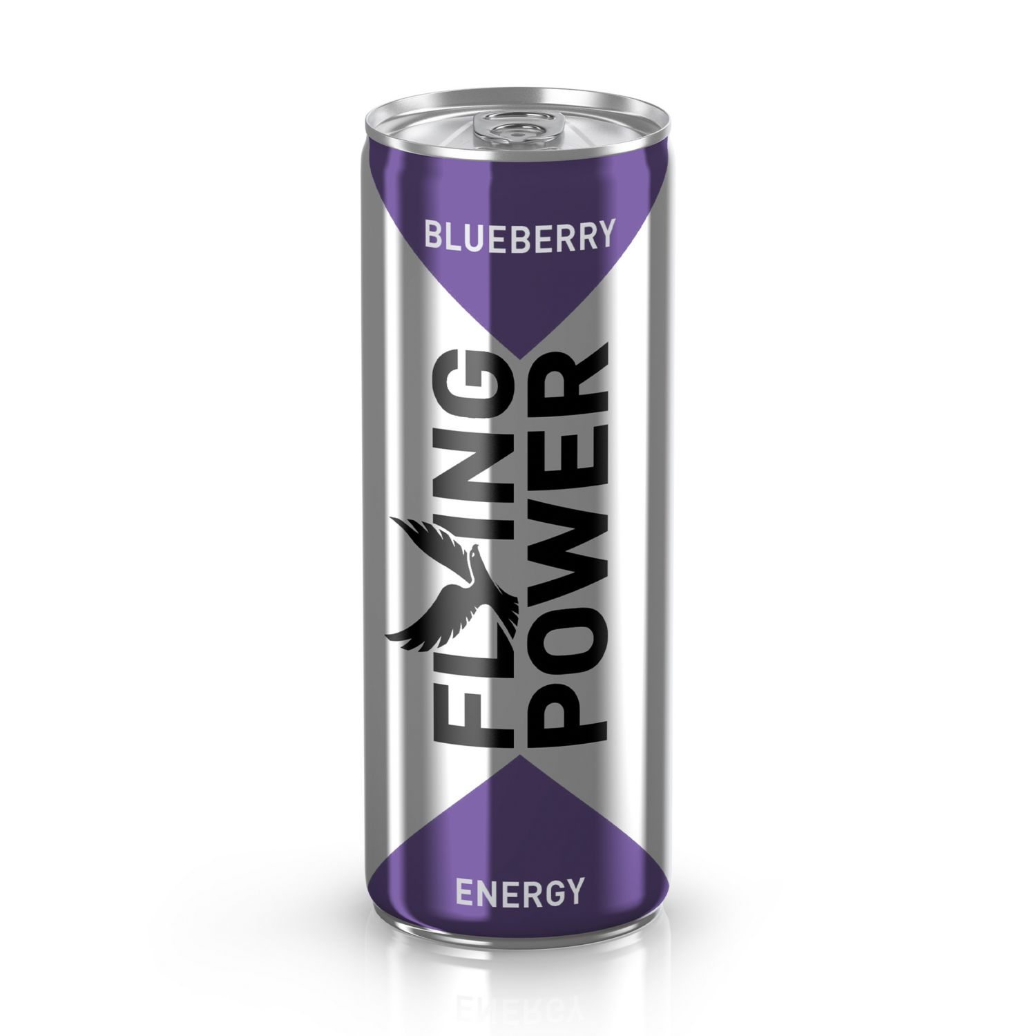 FLYING POWER Energy Drink, Heidelbeere