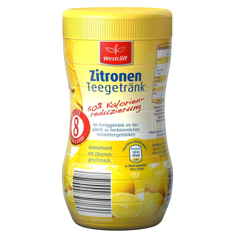 Zitronen Teegetränk 50% kalorienreduzierung 400g