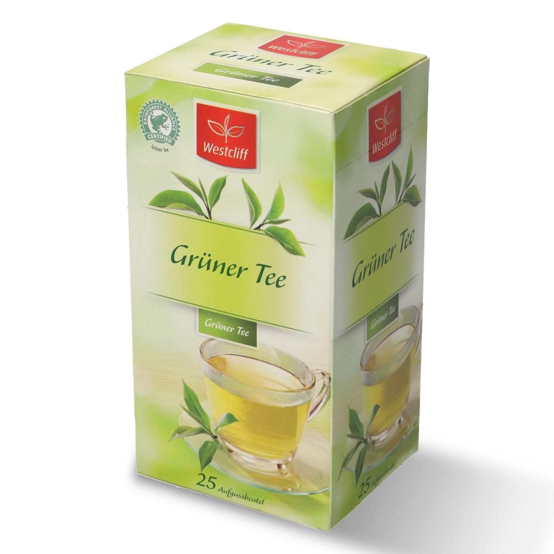 Westcliff Grüner Tee aromatisiert 25 Beutel